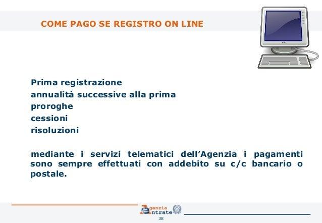 Il contratto di locazione la registrazione telematica for Registrazione contratto preliminare di compravendita agenzia delle entrate