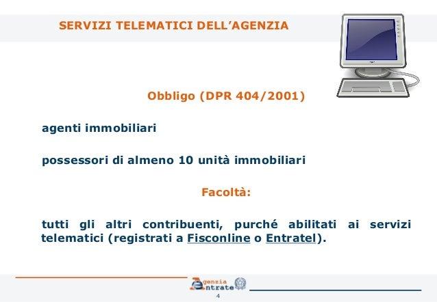 Il contratto di locazione la registrazione telematica for Contratto di locazione 4 4 modello