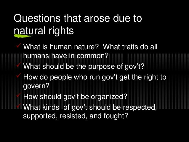 natural rights theory What is john locke's theory of natural rights and justification for a limited government portrait of john locke by library of congress this is an essay from my undergraduate years at the london .