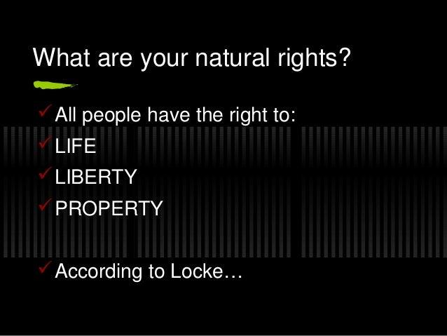 John Locke: Natural Rights to Life, Liberty, and Property