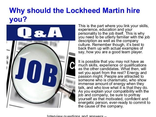lockheed martin company culture