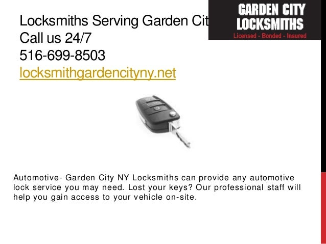 Locksmiths Serving Garden City ...