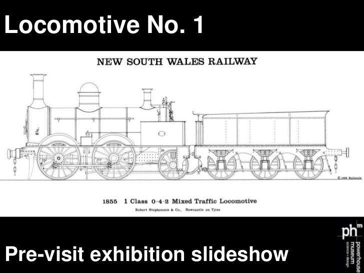 Locomotive No. 1Pre-visit exhibition slideshow
