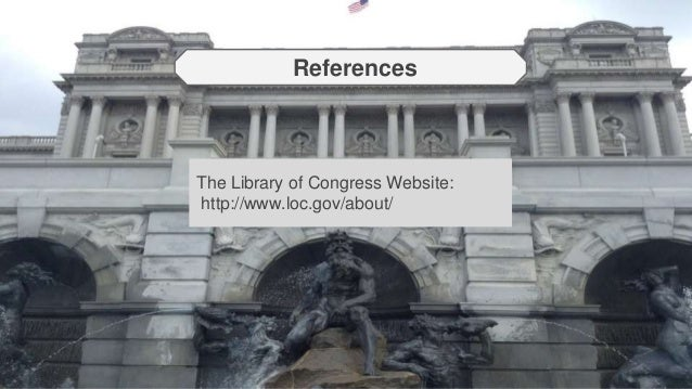 Essay on the library of congress