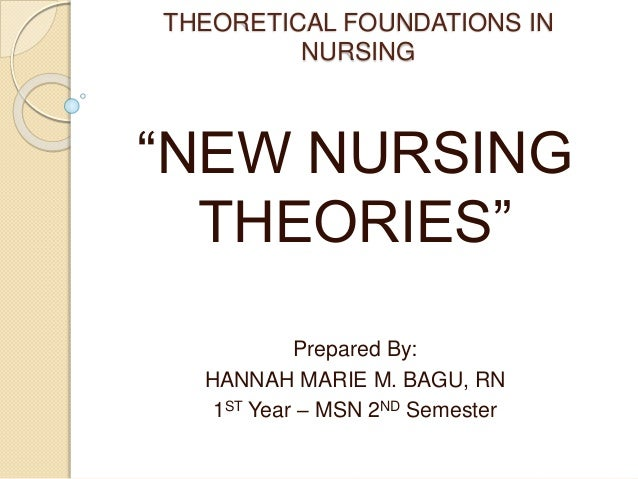 "nursing theory foundation for nursing as Chapter 4: theoretical foundations of nursing practice test bank multiple choice 1 the nursing instructor is teaching a class on nursing theory one of the students asks, ""why do we need to know this stuff."