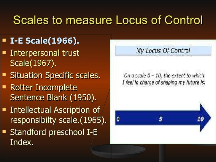 validity of the rotters locus of control scale Employees ' perceptions of the effectiveness  23 locus of control measurement scales  12  locus of control (rotter, 1966) is a significant personality variable in the organization.