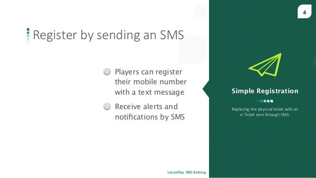 Mobile Lottery with SMS Betting