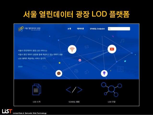 Linked Data & Semantic Web Technology 서울 열린데이터 광장 LOD 플랫폼