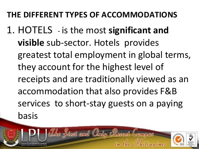 forms of accommodation