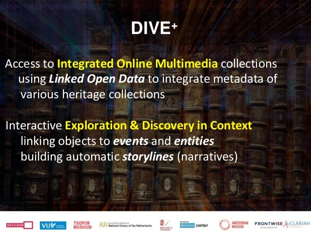 Access to Integrated Online Multimedia collections using Linked Open Data to integrate metadata of various heritage collec...
