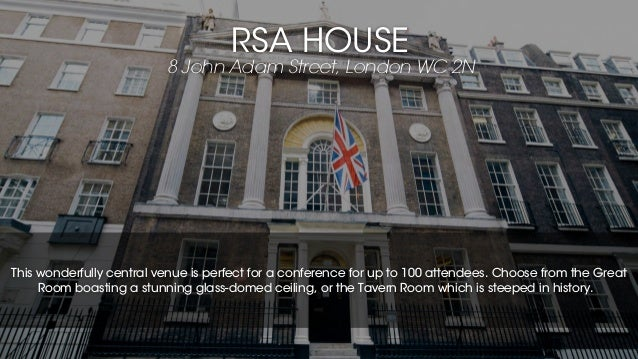 London's Best Conference Venues for up to 100 Guests