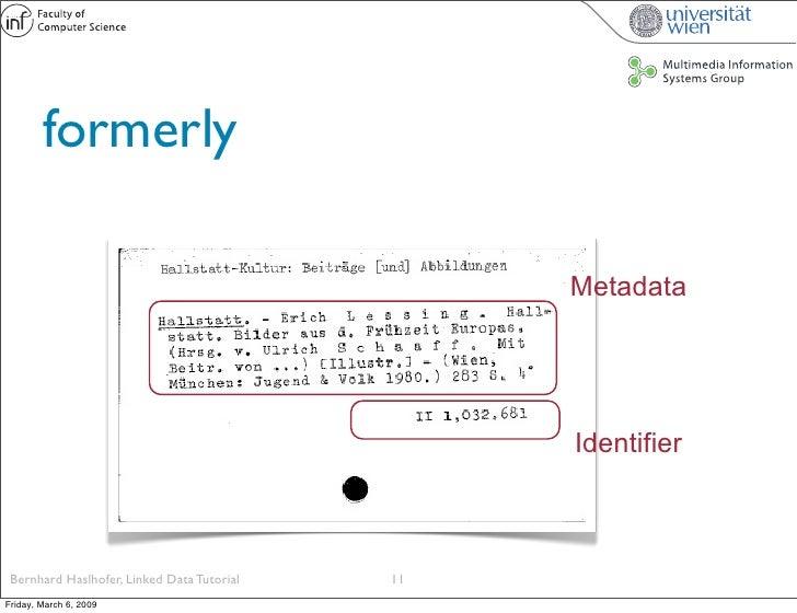 formerly                                                   Metadata                                                      I...