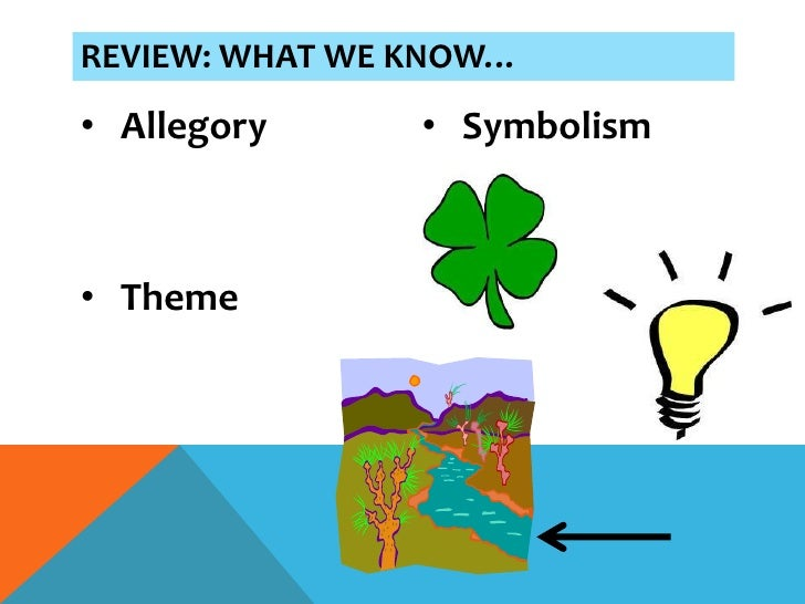 lord of the flies ppt allegory • symbolism• theme