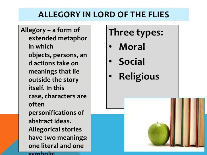 lord of the flies ppt allegory • symbolism• theme 3 allegory in lord