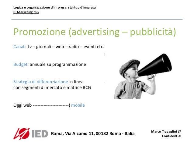 Ied corso logica e organizzazione d 39 impresa lezione6 - Ugc porta di roma programmazione ...