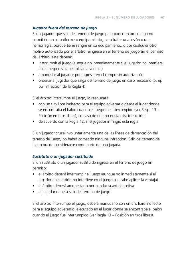 Reglas del futbol 2013 y 2014 for Regla del fuera de lugar