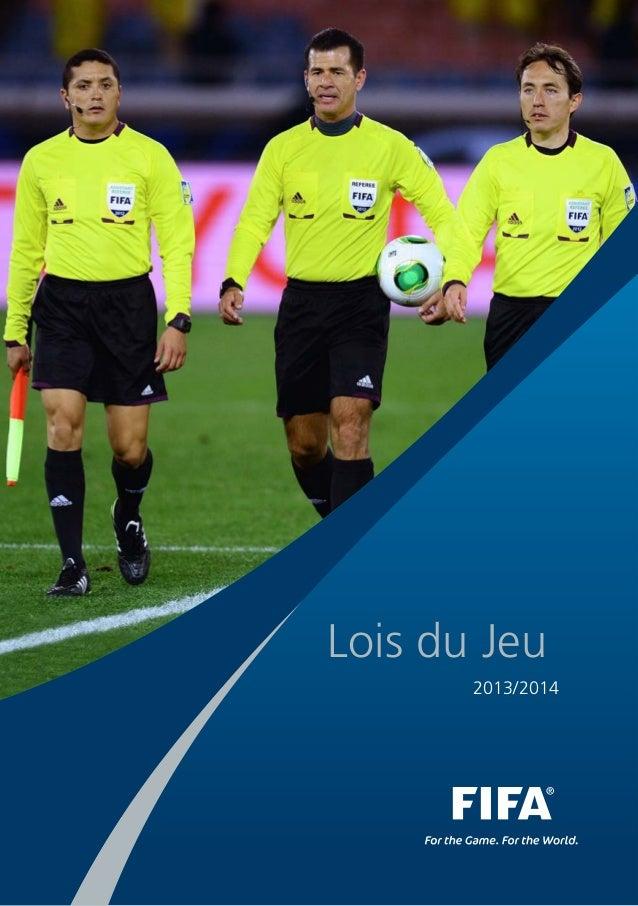 Lois du Jeu 2013/2014