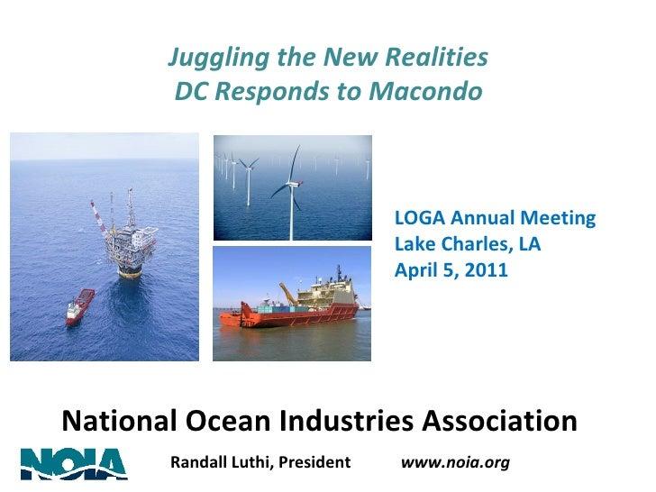 LOGA Annual Meeting: NOIA President Randall Luthi