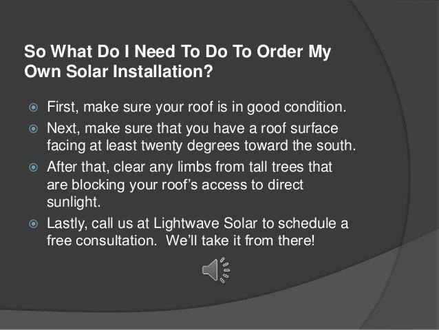 solar sales presentation