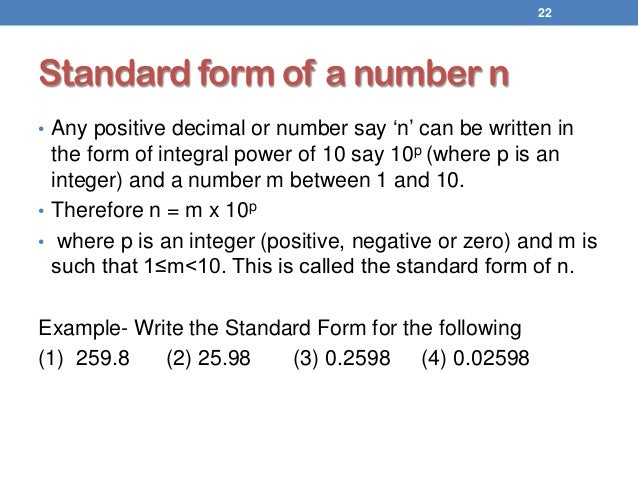 Introduction To Logarithm