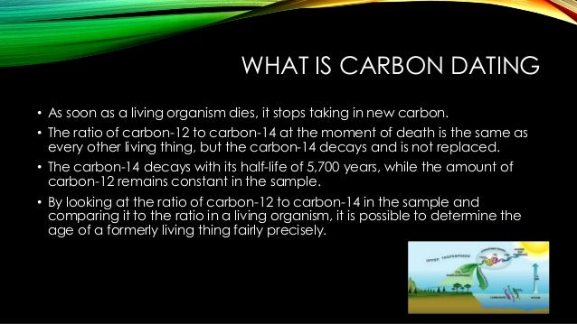 How does radiocarbon dating work simple