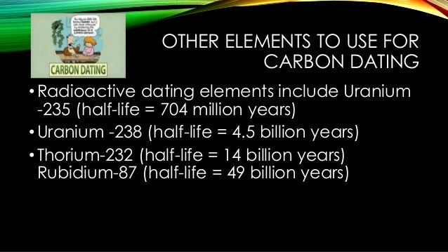 Dating We Carbon How Use Do