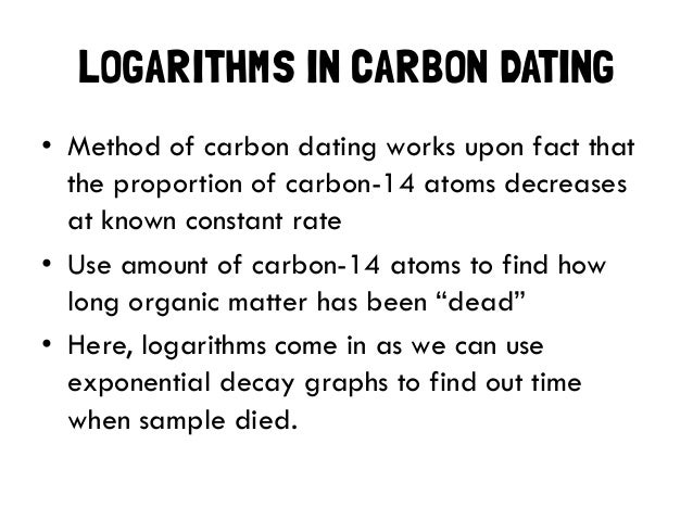 facts about carbon dating