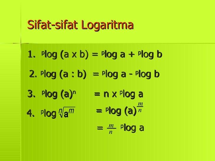 Contoh Soal Logaritma Bentuk Akar Contoh Soal Logaritma Jika Persamaan Logaritma Dan