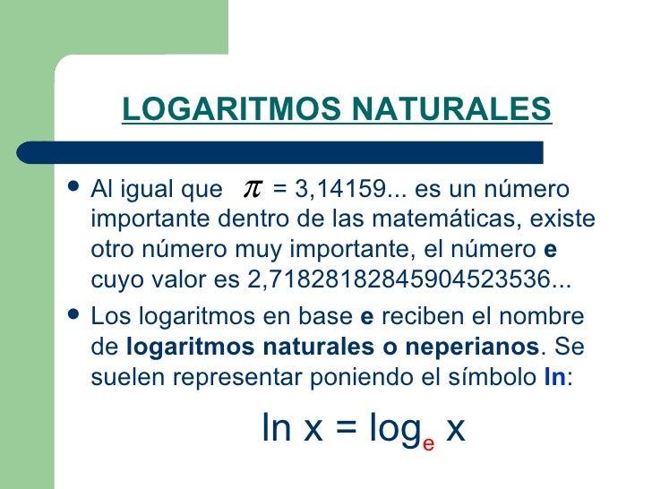 Logaritmos 2009   Slide 3