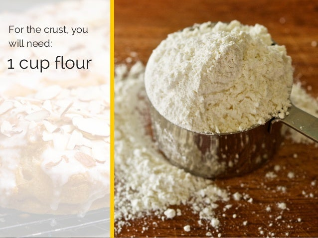 Log Barn 1912 1 cup flour For the crust, you will need: