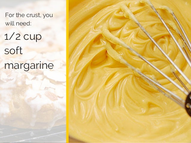 Log Barn 1912 1/2 cup soft margarine For the crust, you will need: