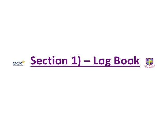 Section 1) – Log Book