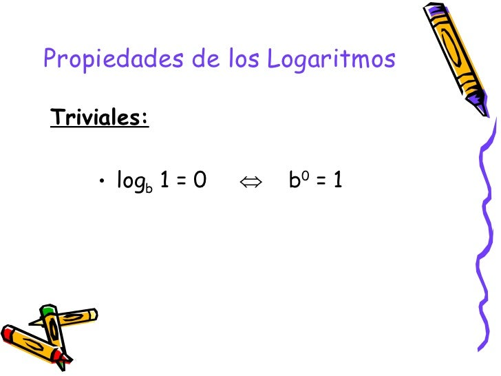Logaritmo definicion y propiedades for Inmobiliaria definicion