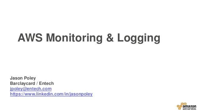 AWS Monitoring & Logging
