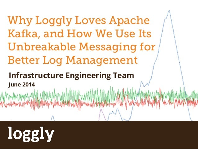 Why Loggly Loves Apache  Kafka, and How We Use Its  Unbreakable Messaging for  Better Apache Log Storm  Management  Infras...