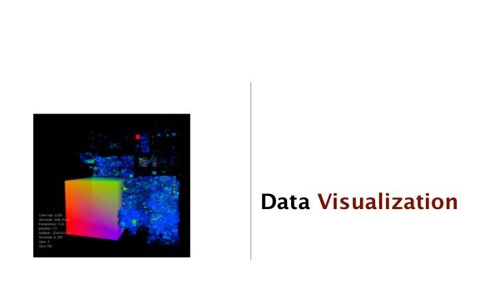 Data Visualization             32