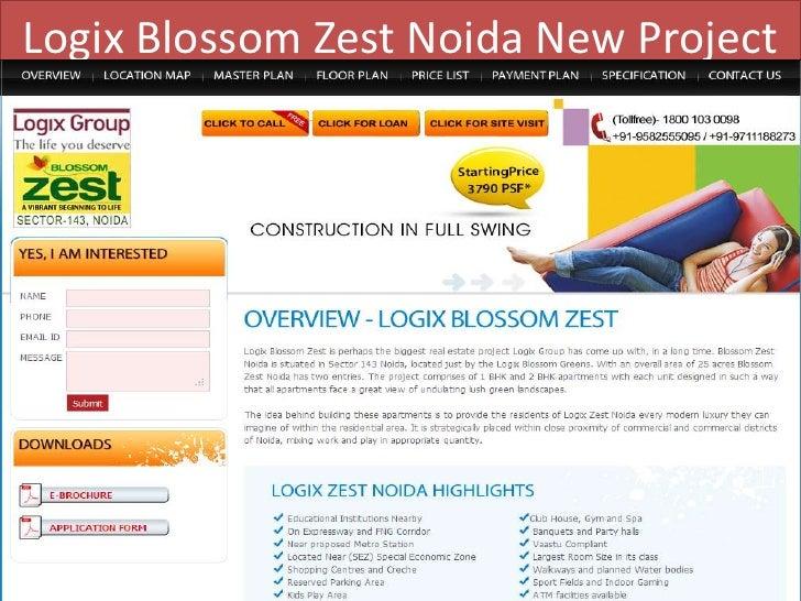 Logix Blossom Zest Noida New Project