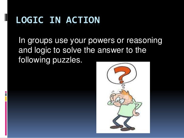 how to use reason with logic