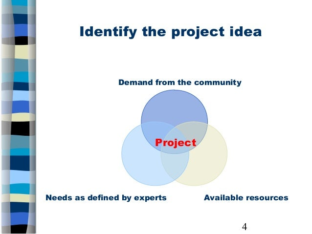 Proposal Development Logical framework and project proposal