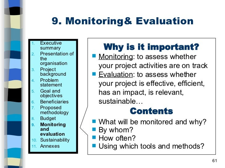 phd thesis on monitoring and evaluation On jan 1, 2009, ole hertel published a research thesis starting with the following   integrated monitoring and assessment of air pollution – doctor's dissertation.