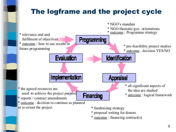 the logical framework matrix 9