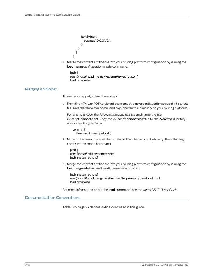 Juniper Configuration Commands Pdf