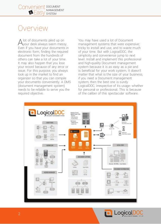 LogicalDOC - Technical Paper Slide 2