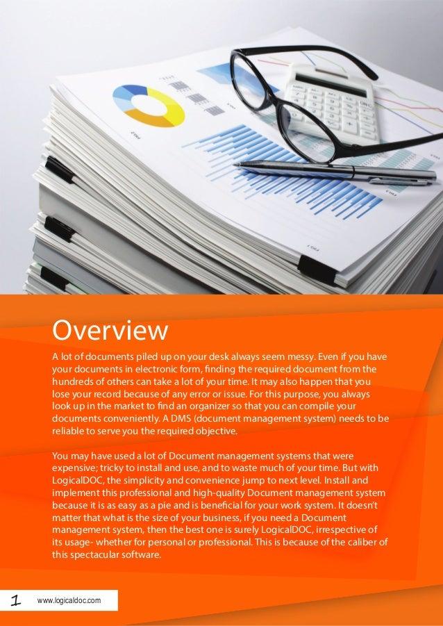 LogicalDOC - Convenient and easy document management system Slide 2