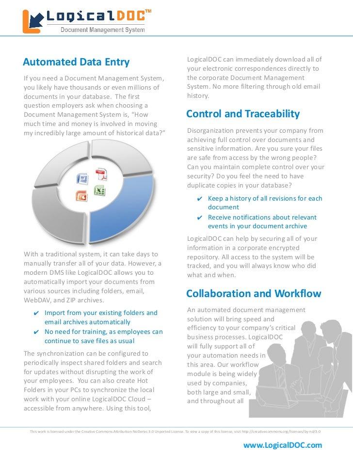LogicalDOC White Paper Slide 2