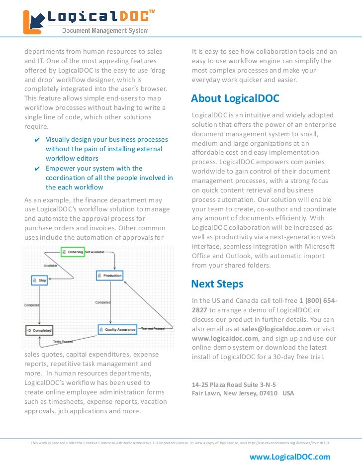 LogicalDOC White Paper Slide 3