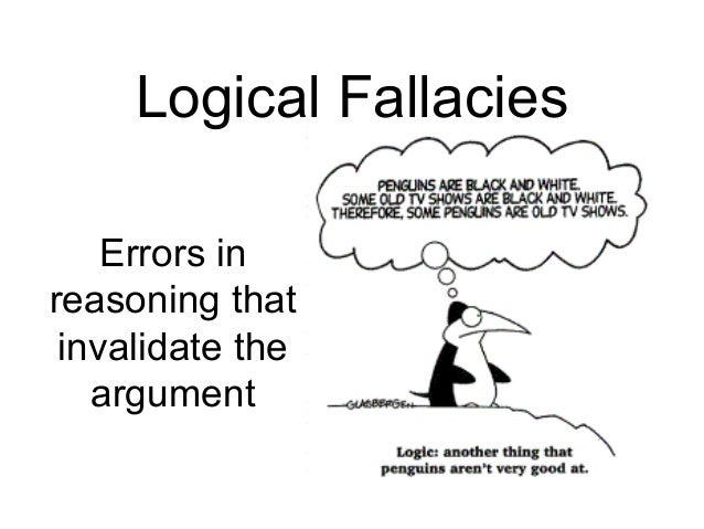 logical fallacies quizlet