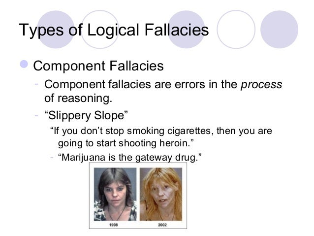an introduction to three types of fallacies Introduction to logic: problems and solutions 13 lecture 3: types of arguments: 231 identify the fallacies of weak induction committed by the following.