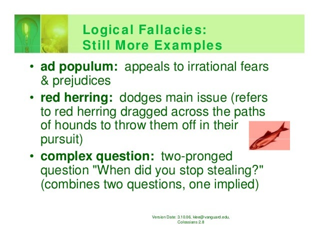 Dating site ad examples of fallacy