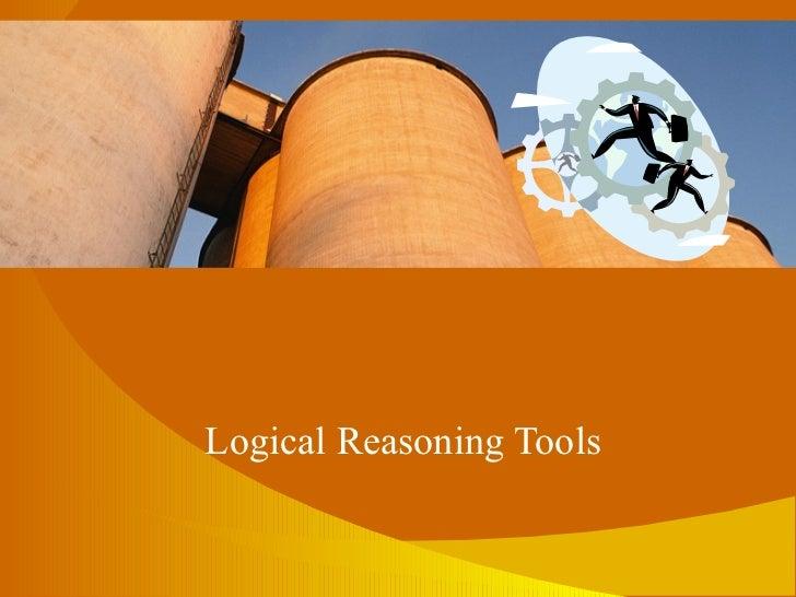 Logical Reasoning Tools